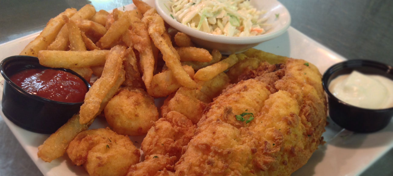 Delicious Seafood Is Our Specialty!