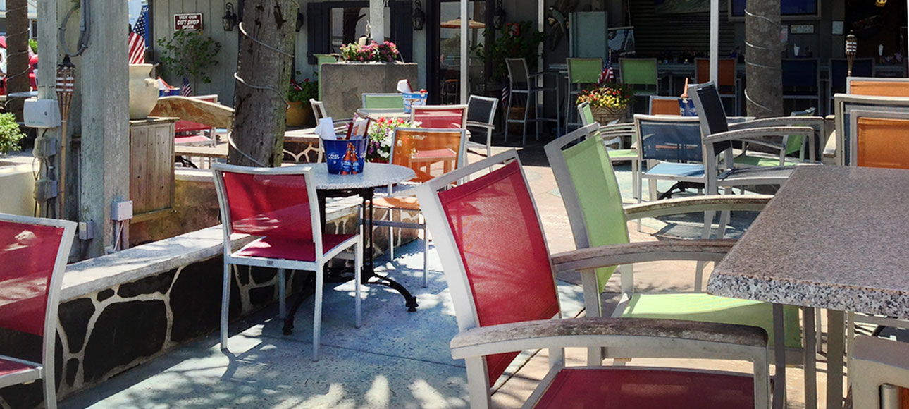Dine Outside On Our Beautiful Deck.