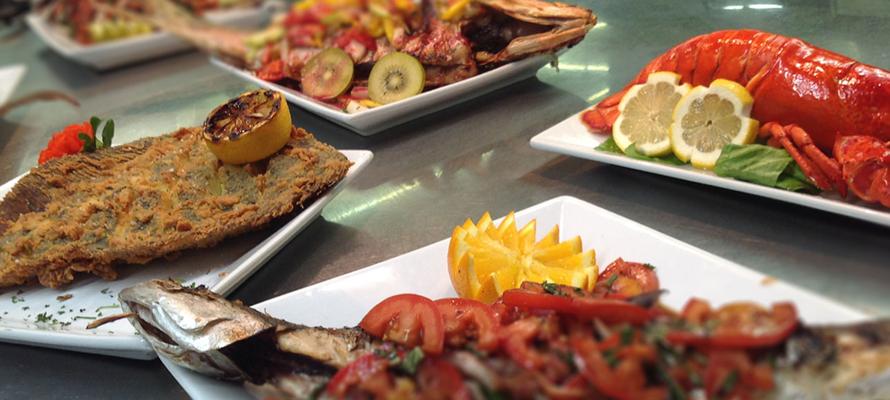 Fresh Catch. Grilled, Broiled, Steamed or Fried.